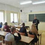 Spotkanie z policjantem z Wydziału Ruchu Drogowego